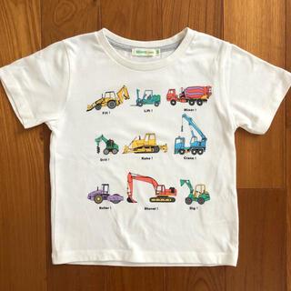 コドモビームス(こども ビームス)のビームスミニ 働く車 半袖Tシャツ 100(Tシャツ/カットソー)