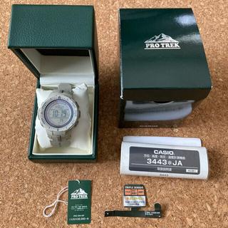カシオ(CASIO)のカシオ プロトレック PRG-300-8JF サンドベージュ(腕時計(デジタル))