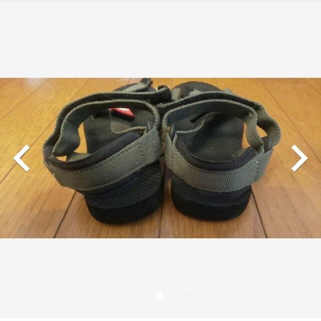 THE NORTH FACE(ザノースフェイス)のノースフェイス サンダル キッズ/ベビー/マタニティのキッズ靴/シューズ(15cm~)(サンダル)の商品写真
