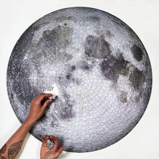 □パズル 1000ピース 月 MOON NASA(その他)