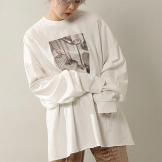 アングリッド(Ungrid)のnotch. フォトプリントビックルーズロンT(Tシャツ(長袖/七分))