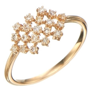 ノジェス(NOJESS)のNOJESS K10 ダイヤモンド 0.13ct ノジェス(リング(指輪))