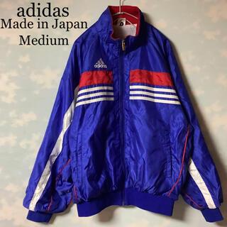 アディダス(adidas)の日本製 adidas ナイロンジャケット 90s デサント パフォーマンスロゴ(ナイロンジャケット)