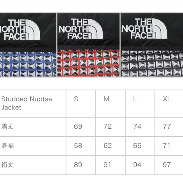TNF Studded Nuptse Jacket メンズのジャケット/アウター(ダウンジャケット)の商品写真