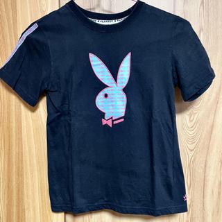 プレイボーイ(PLAYBOY)のプレイボーイ 半袖Tシャツ ブルー(Tシャツ(半袖/袖なし))