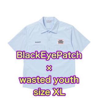 ジーディーシー(GDC)のブラックアイパッチ wasted youth シャツ XL(シャツ)