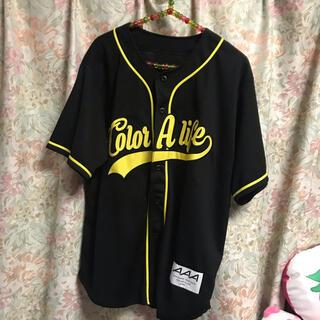 トリプルエー(AAA)のAAA ベースボールシャツ(日高光啓)(アイドルグッズ)