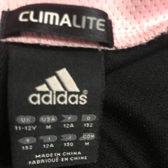 adidas(アディダス)のadidasジャージ 150 3点セット キッズ/ベビー/マタニティのキッズ服女の子用(90cm~)(その他)の商品写真