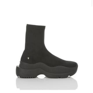 Yellow boots - YELLO イエロ スニーカーショートブーツ BLACK S
