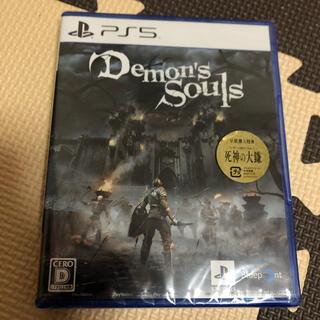 プレイステーション(PlayStation)の新品 Demon's Souls デモンズソウル PS5(家庭用ゲームソフト)