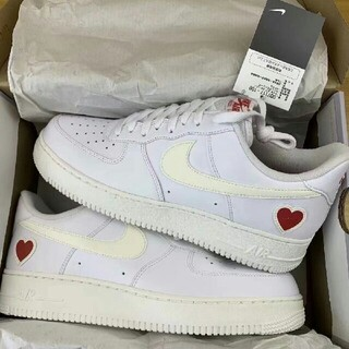 "NIKE - NIKE AIR FORCE 1 ""VALENTINE'S DAY"" 24.5"