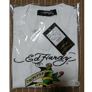 エドハーディー(Ed Hardy)の💀エド ハーディー💀🔵新品未使用🔵プリントTシャツ🔵120🔵(Tシャツ/カットソー)