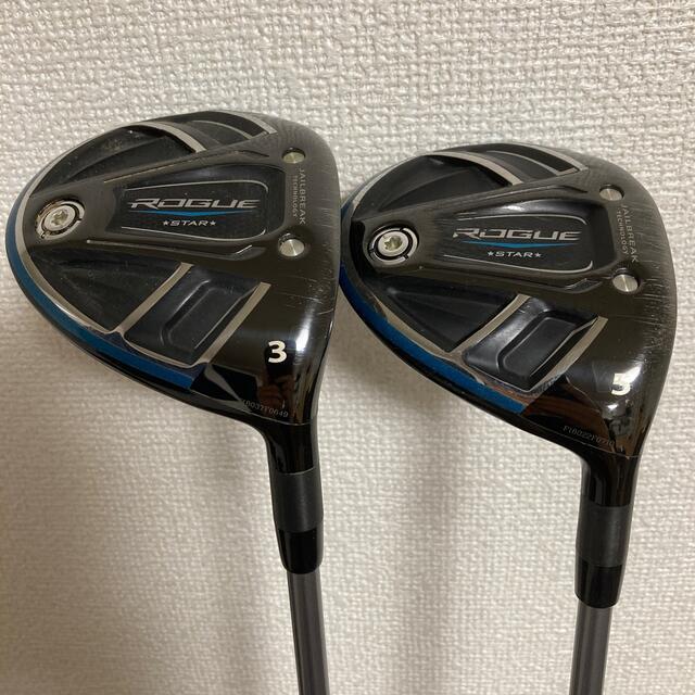 Callaway Golf(キャロウェイゴルフ)のローグスター フェアウェイウッド(3.5番) 2本セット スポーツ/アウトドアのゴルフ(クラブ)の商品写真