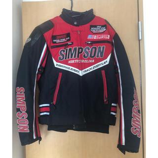 シンプソン(SIMPSON)のシンプソン SIMPSON ジャケット 美品(ライダースジャケット)