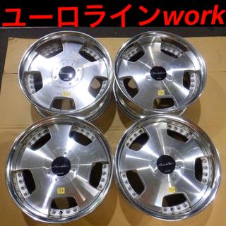 17インチアルミホイール 4本セット タイヤ付き