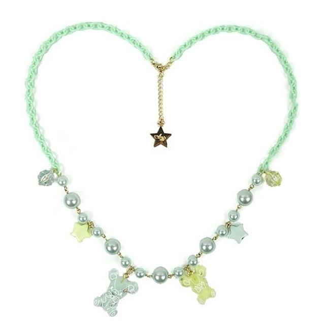 Angelic Pretty(アンジェリックプリティー)の値下げ jelly cyandy toys ネックレス リング レディースのアクセサリー(ネックレス)の商品写真