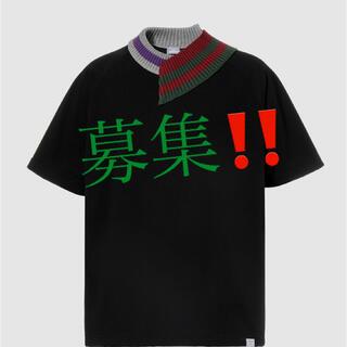 kolor - kolor beacon 21ss 度詰天竺Tシャツ 黒 サイズ2or 3