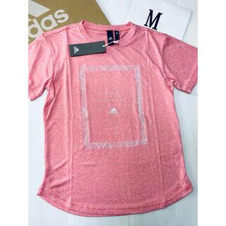 アディダス(adidas)のアディダス Tシャツ M レディース 新品 ♡ キッズ ジュニア ナイキ プーマ(Tシャツ(半袖/袖なし))