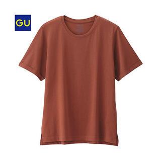 ジーユー(GU)の【GU】ロールアップスリーブT(半袖) Sサイズ(Tシャツ(半袖/袖なし))