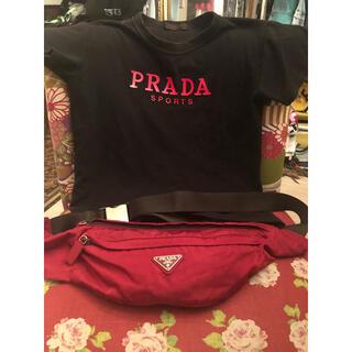 PRADA - PRADA ウエストポーチ ボディバッグ プラダ