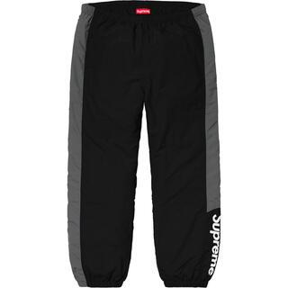 Supreme - 黒 S supreme side logo track pant black