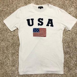 RODEO CROWNS - 新品未使用国旗USA立体的お洒落デザインアメカジTシャツ