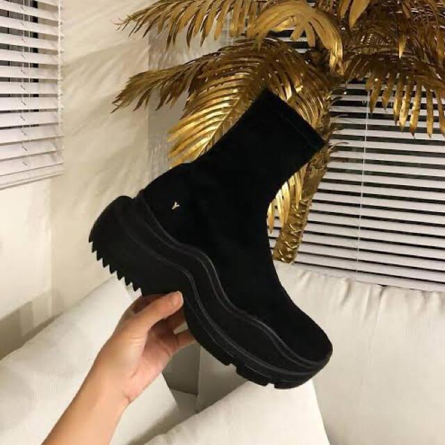 Yellow boots(イエローブーツ)のYELLO BAISEN SNEAKER SHORT BOOTS レディースの靴/シューズ(ブーツ)の商品写真