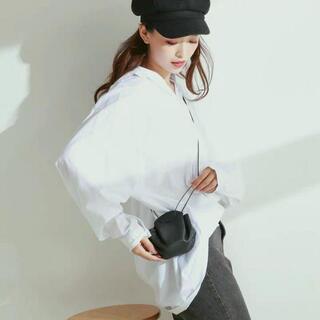 巾着ポーチ 韓国 肩掛けバッグ シンプル ドロスト(コンシーラー)