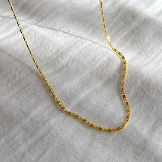 Plage - Silver925,18kgp_Augustine necklace