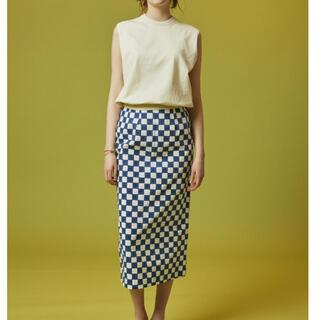 Ron Herman - SZ Blockprints♡I-Line Block Print Skirt