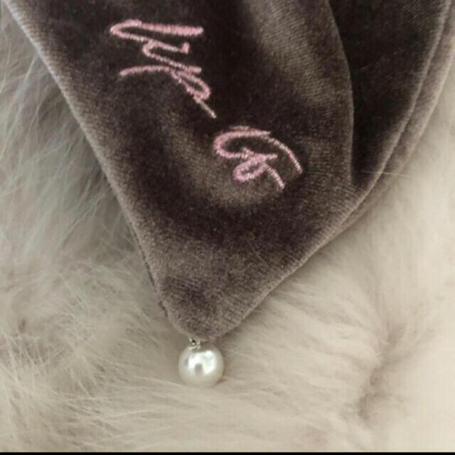 FRAY I.D(フレイアイディー)のHer lip to【完売品】Velvet Bow Scrunchieヘアリボン レディースのファッション小物(その他)の商品写真