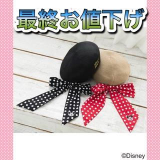 オリーブデオリーブ(OLIVEdesOLIVE)のOLIVE des OLIVE ミッキー ディズニーコラボ ディズニー ベレー帽(ハンチング/ベレー帽)