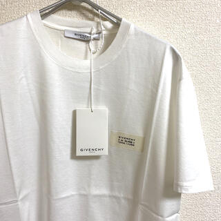 GIVENCHY - 【期間限定セール】GIVENCHY クルーネックロゴパッチTシャツ M