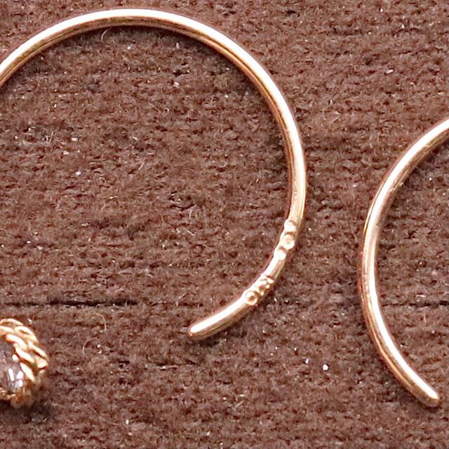 COCOSHNIK(ココシュニック)のココシュニック ダイヤ ピアス レディースのアクセサリー(ピアス)の商品写真