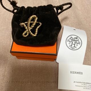 Hermes - エルメス スカーフリング コードH ゴールド