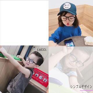 ○ブルーライトカット メガネ 子供用 キッズ 超軽量 13グラム(サングラス)