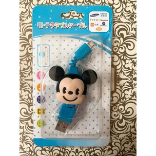 ディズニー(Disney)のスティッチ ミッキー 充電ケーブル(その他)