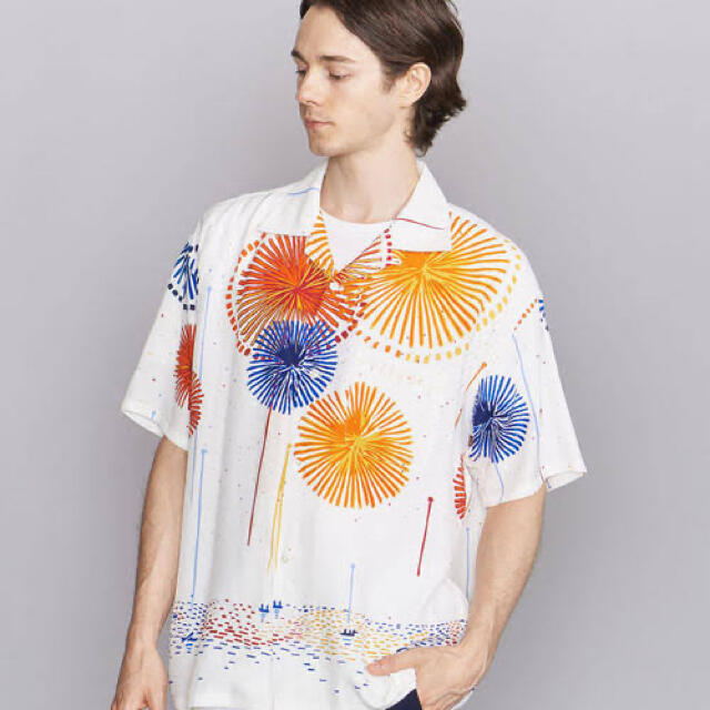 WACKO MARIA(ワコマリア)のflagstuff  フラグスタフ オープンカラーシャツ  メンズのトップス(シャツ)の商品写真