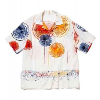 WACKO MARIA - flagstuff  フラグスタフ オープンカラーシャツ