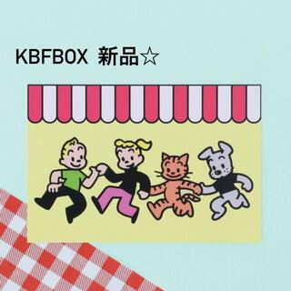 ケービーエフ(KBF)のオサムグッズ ポストカード ダンシング(キャラクターグッズ)