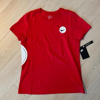 NIKE - 【新品】NIKE ナイキ レディース スマイルTシャツ 赤Mサイズ