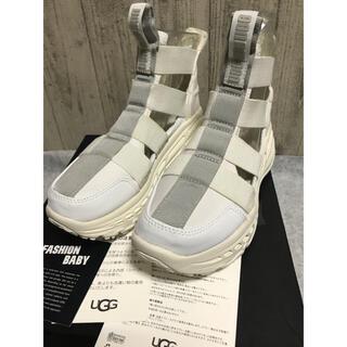 UGG - 新品 正規品ugg   グラディエイターランナー スニーカー サンダル 白23