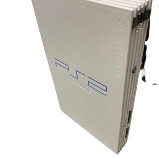 プレイステーション2(PlayStation2)のPS2 プレステ2 55000 ホワイト 白 本体 のみ(家庭用ゲーム機本体)
