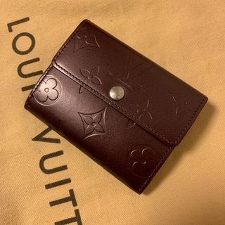 ルイヴィトン(LOUIS VUITTON)のルイヴィトン  モノグラム マット コインケース ウォレット(財布)