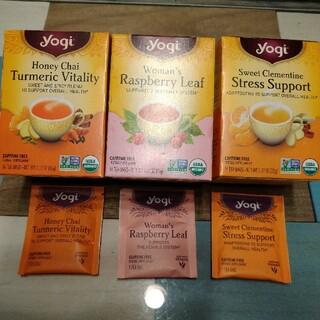 yogi カフェインフリー オーガニック ティー(茶)