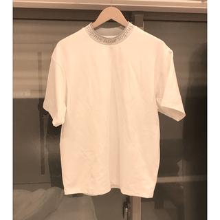 アクネ(ACNE)の■XS■20ss Acne Studios■ネック ロゴ Tシャツ(Tシャツ/カットソー(半袖/袖なし))