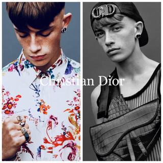 Christian Dior - 【☆全国完売 新品☆】DIOR Silver イヤーアクセサリー オニキス