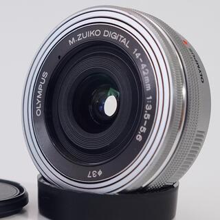 オリンパス(OLYMPUS)の★動画でも大満足★オリンパス14-42mm EZ パンケーキレンズ(レンズ(ズーム))