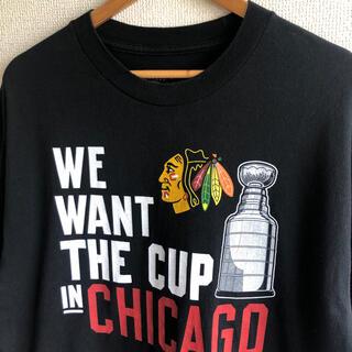NHL プロアイスホッケー プリント Tシャツ(Tシャツ/カットソー(半袖/袖なし))