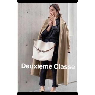 DEUXIEME CLASSE - ドゥーズィエムクラス FINX ギャバオーバーコート argue